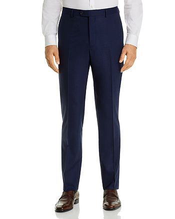 John Varvatos Star USA - Street Micro-Check Slim Fit Suit Pants