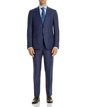 Zegna - Tonal Micro-Check Slim Fit Suit