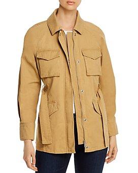 Bagatelle - Belted Cotton Utility Jacket