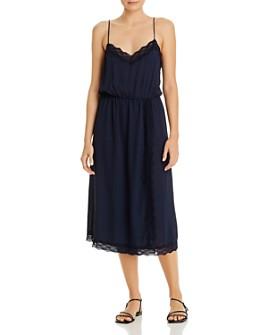 Vero Moda - Lace-Trim Faux-Wrap Dress