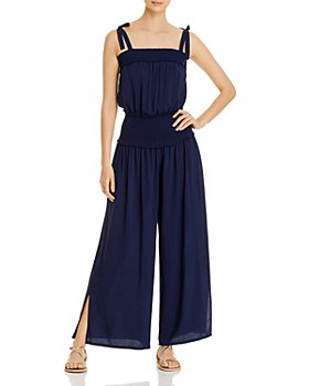 Tory Burch - Smocked Jumpsuit