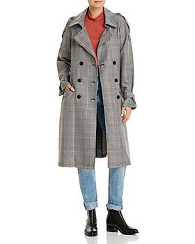 Vero Moda - Check Print Coat