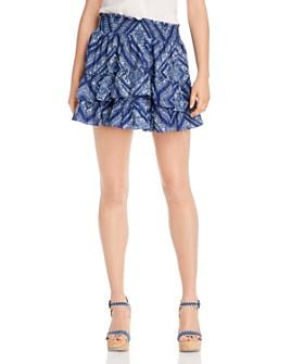 LINI - Ilana Printed Mini Skirt - 100% Exclusive
