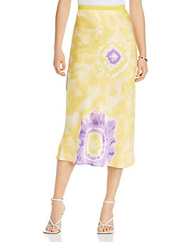 LINI - Melanie Printed Midi Skirt - 100% Exclusive