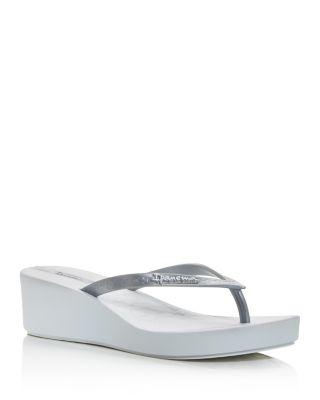 Ipa Daisy Wedge Platform Flip-flops