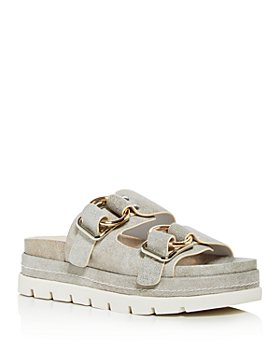 J/Slides - Women's Baha Platform Slide Sandals