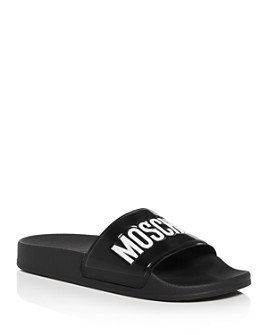 Moschino - Women's Logo Slide Sandals