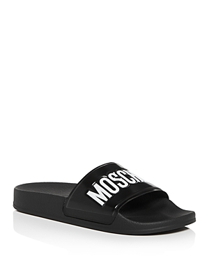 Moschino Women's Logo Slide Sandals
