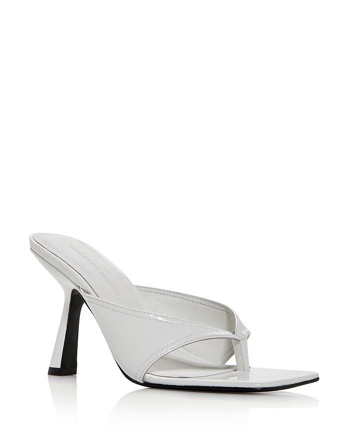 Sigerson Morrison - Women's Kaliska High-Heel Thong Sandals