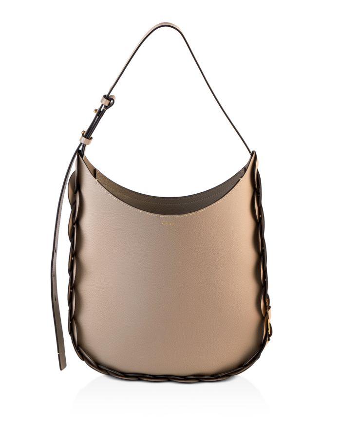 Chloé Darryl Medium Leather Hobo    Bloomingdale's