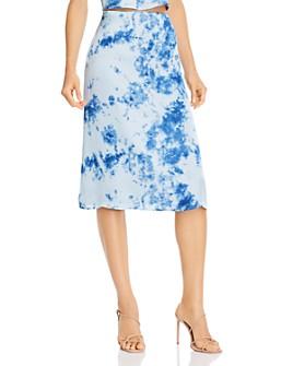 FORE - Tie-Dye Slip Skirt