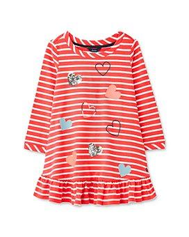 Joules - Girls' Allie Striped Dress - Little Kid, Big Kid