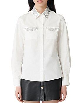 Maje - Cilina Studded Shirt