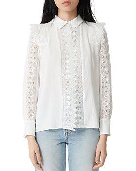 Maje - Candi Lace Shirt
