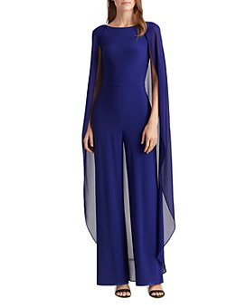 Ralph Lauren - Georgette Cape Jumpsuit