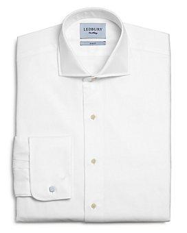 Ledbury - Tuxedo Cotton French-Cuff Slim Fit Dress Shirt