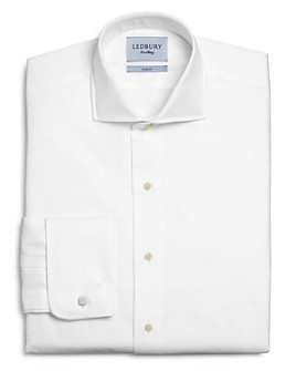 Ledbury - Tuxedo Cotton French-Cuff Slim Fit Dress Shirt