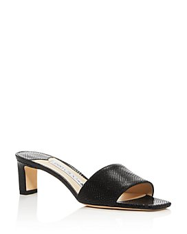 Jimmy Choo - x Kaia Women's K-Slide 50 Snake-Embossed Slide Sandals