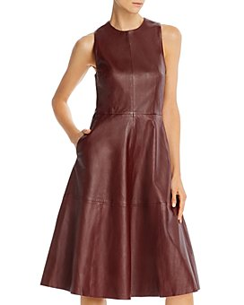 REMAIN - Portia Leather Dress
