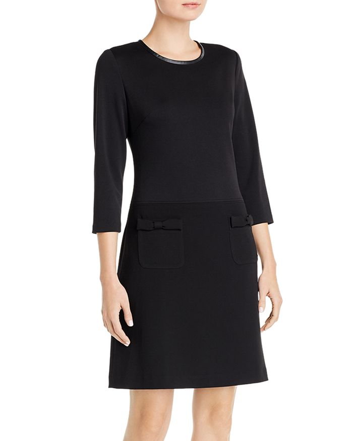 KARL LAGERFELD PARIS - Colorblock A-Line Dress