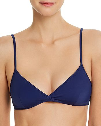 Solid & Striped - Brigitte Triangle Bikini Top