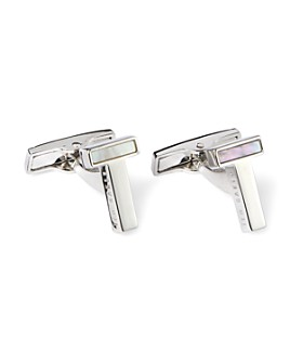 Ted Baker - T Mother-of-Pearl Cufflinks