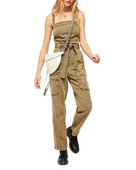 Free People - Go West Utility Jumpsuit