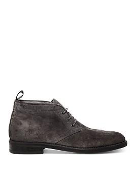 ALLSAINTS - Men's Huxley Suede Lace-Up Chukka Boots