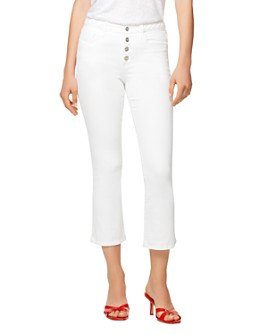 Sanctuary - Connector Kick-Flare Jeans in White Jasmine