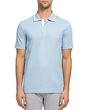 Theory Standard Tipped Regular Fit Polo Shirt-Men