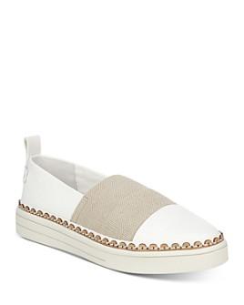 Via Spiga - Women's Ora Slip On Platform Sneakers