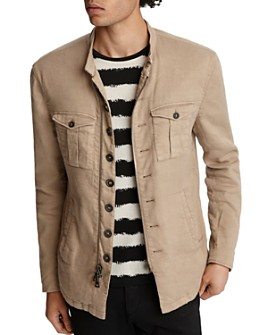 John Varvatos Collection - Slim Fit Military Jacket