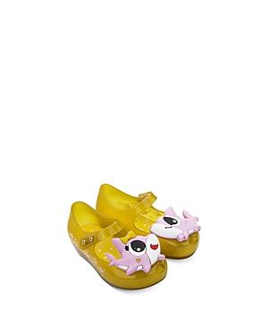 Mini Melissa Girls\\\' Shark Sandals - Walker, Toddler