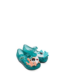 Mini Melissa - Girls' Shark Sandals - Walker, Toddler