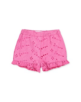 Sovereign Code - Girls' Eyelet Cotton Shorts - Big Kid