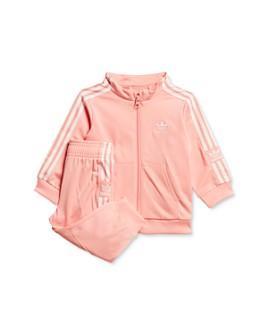 adidas Originals - Girls' Lock Up Track Jacket & Pants Set - Little Kid
