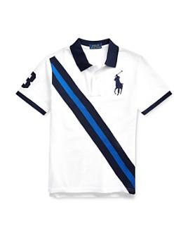Ralph Lauren - Boys' Cotton Stripe Polo Shirt - Big Kid