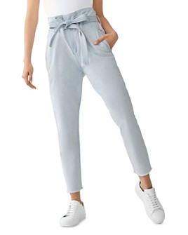 DL1961 - Susie Paper-Bag High-Rise Tapered Jeans in Hazen