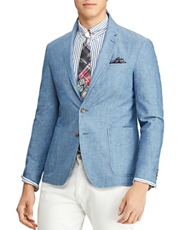 Polo Ralph Lauren - Chambray Slim Fit Suit Jacket
