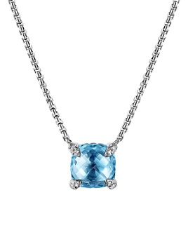 David Yurman - Châtelaine® Pendant Necklace with Gemstones and Diamonds
