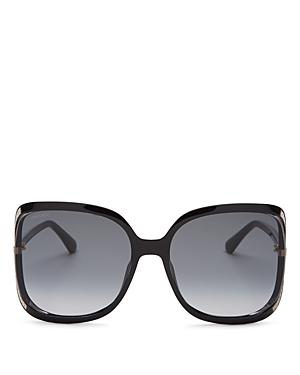 Jimmy Choo Women\\\'s Tilda Oversized Square Sunglasses, 60mm-Jewelry & Accessories