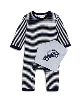Bloomie's - Boys' Striped Coverall & Bib Set, Baby - 100% Exclusive