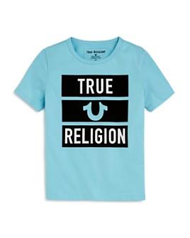 True Religion - Boys' Cotton Block Tee - Little Kid, Big Kid