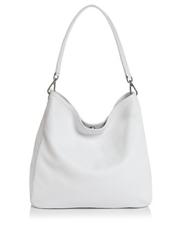AQUA - Leather Hobo Bag - 100% Exclusive