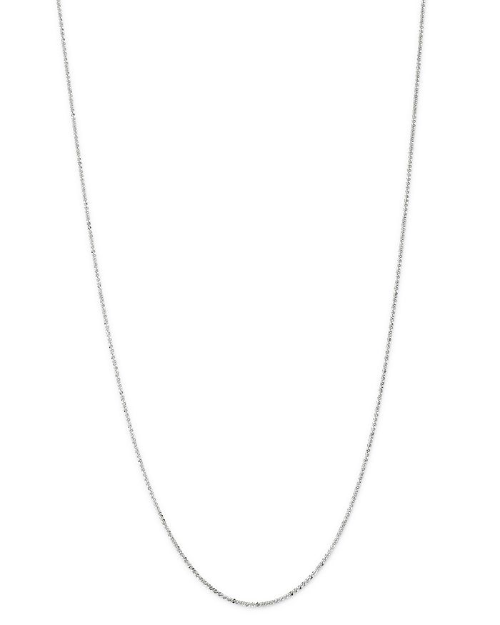 """Bloomingdale's - Crossover Link Chain Necklace in 14K White Gold, 18"""" - 100% Exclusive"""
