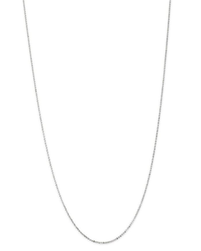"""Bloomingdale's Bloomingdale's Crossover Link Chain Necklace in 14K White Gold, 18"""" - 100% Exclusive  