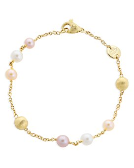 Marco Bicego - 18K Yellow Gold Africa Pearl Multicolor Cultured Freshwater Pearl Bracelet