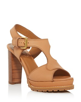 See by Chloé - Women's High Block-Heel Platform Sandals