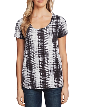 Vince Camuto Printed Linen Tee - 100% Exclusive-Women