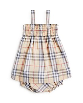 Burberry - Girls' Joan Vintage Check Dress & Bloomers Set - Baby